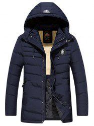 8808 - A532 Winter Men's Jacket Down Cotton Padded Hooded Men's Youth -