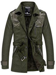 569 - A532 Men's Casual  Youth Fashion Business Windbreaker Jacket Trench -