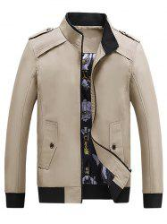 Men's Cotton Down Jacket Cotton Hooded Parka -
