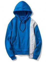 European Code Men Irregular Hooded Casual Loose Sweater -