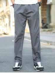1703 - A532 Autumn Men's Business Youth Large Size Trousers Casual Pants -