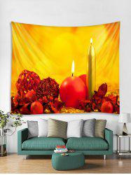 Candle Pattern Tapestry Art Decoration -