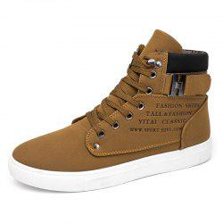 SYXZ 0164 High-top Casual Shoes Lace-up Boots -