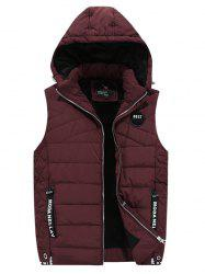 1891 - A532 Winter Youth Men Cotton Casual Hooded Down Vest -
