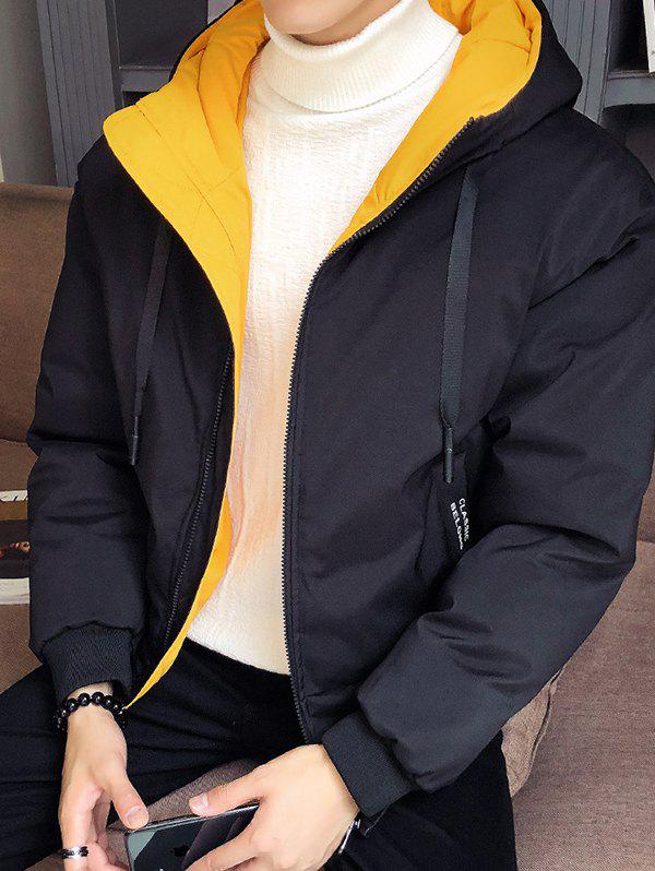 Outfit Large Autumn And Winter Men Thickening Casual Hooded Youth Jacket