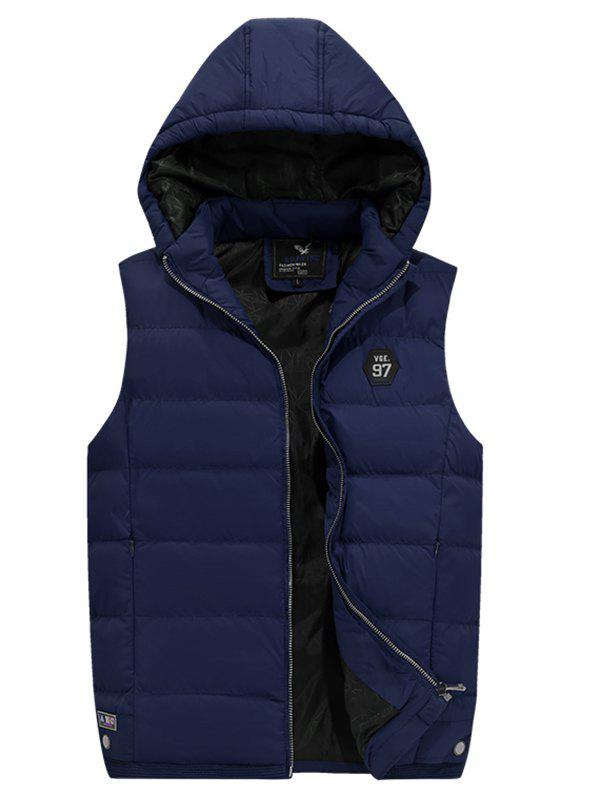 New 186 - A532 Winter Casual Youth Men Hooded Large Size Cotton Vest