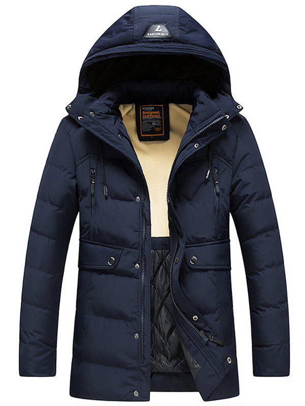 Latest 8809 - A532 Winter Men's Korean Casual Jacket Down Cotton Padded Hoodie