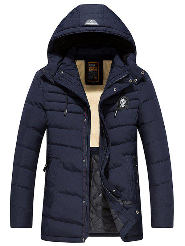 Buy 8808 - A532 Winter Men's Jacket Down Cotton Padded Hooded Men's Youth