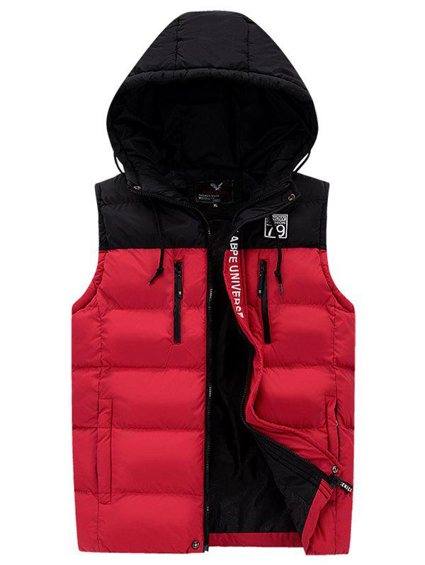 Cheap 591 - A532 Men Casual Youth Hooded Cotton Vest