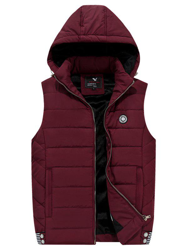 Shops 181 - A532 Winter Men Casual Youth Plus Velvet Hooded Vest