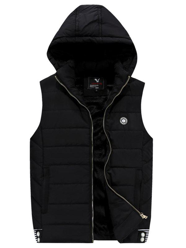 Store 181 - A532 Winter Men Casual Youth Plus Velvet Hooded Vest