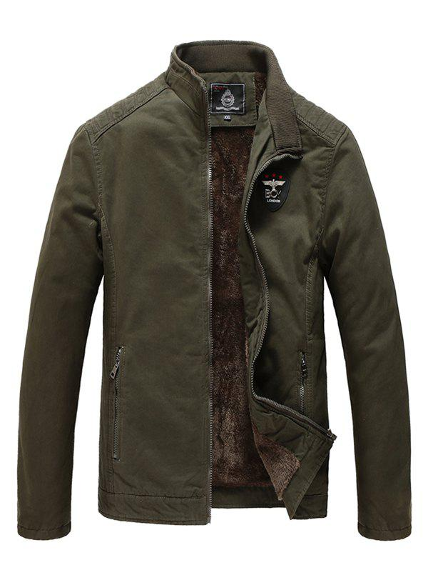 Outfits Men's Winter Fashion Business Casual Washed Windbreaker Jacket