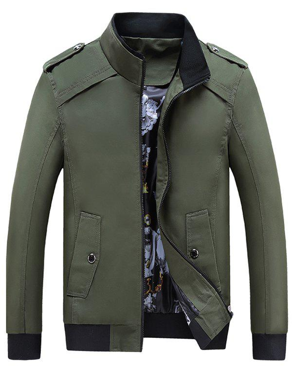 New Men's Cotton Down Jacket Cotton Hooded Parka