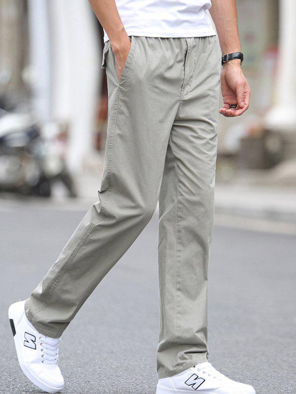 Latest 1703 - A532 Autumn Men's Business Youth Large Size Trousers Casual Pants