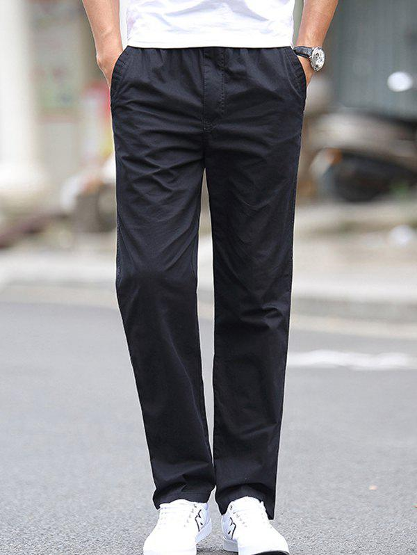Outfit 1703 - A532 Autumn Men's Business Youth Large Size Trousers Casual Pants