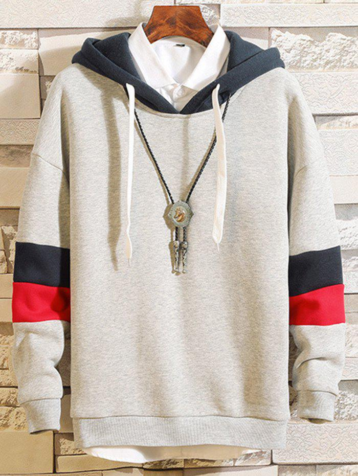 Hot Men's Casual Hooded Sweater Fashion Matching Hoodie