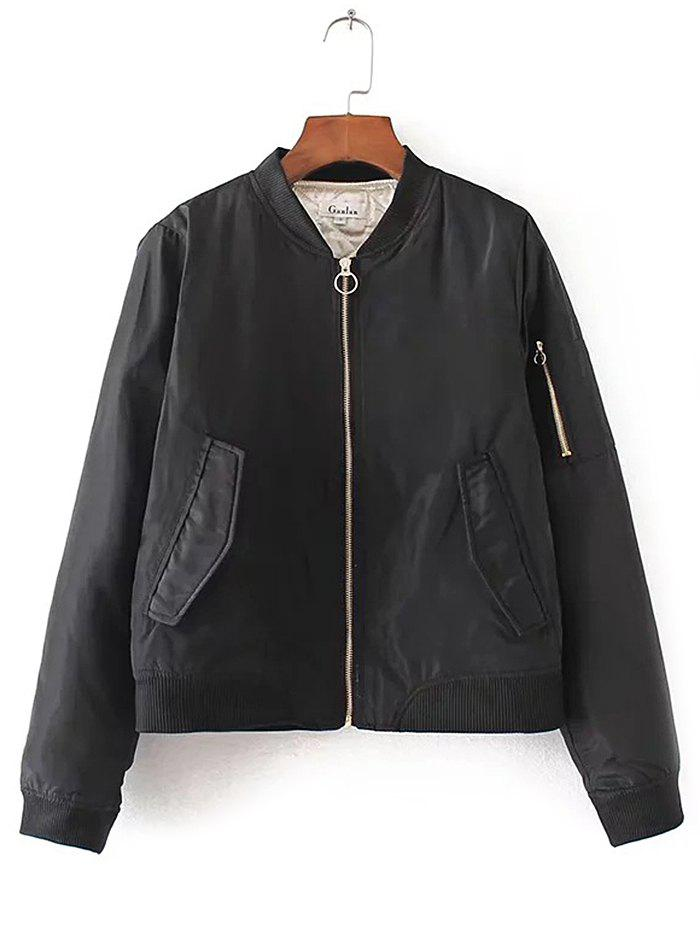 New Women's Autumn Basic Pilot Jacket