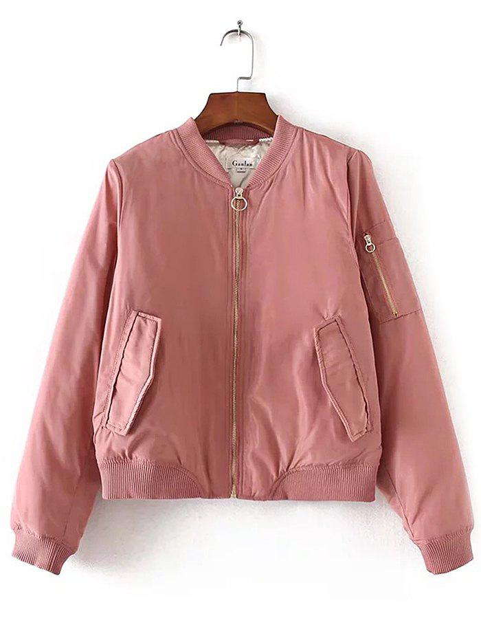 Chic Women's Autumn Basic Pilot Jacket