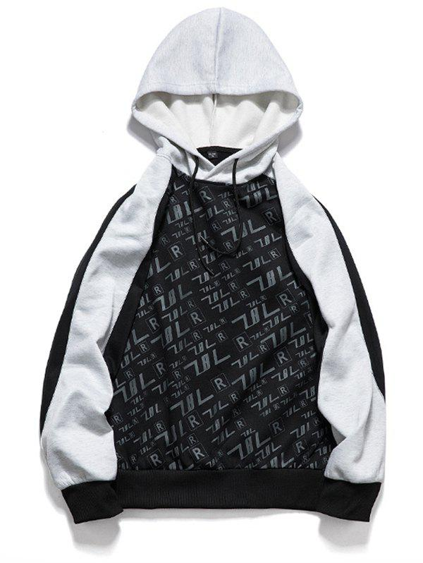 Online Men's Sports Fashion European and American Hooded Sweater Hoodie