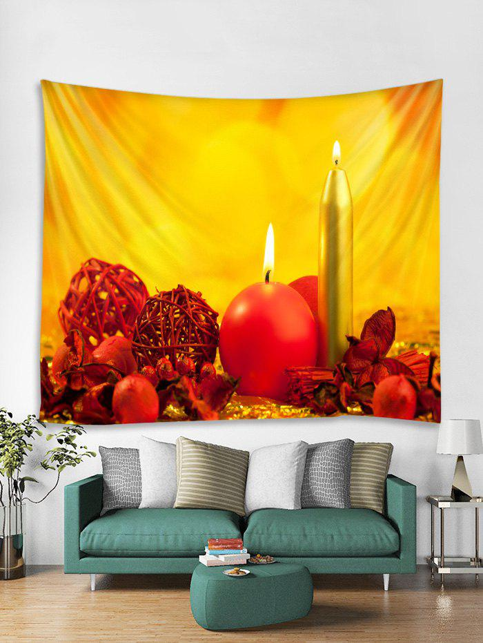Shops Candle Pattern Tapestry Art Decoration