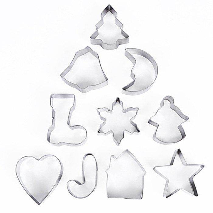 Christmas Stainless Steel Cookie Mold