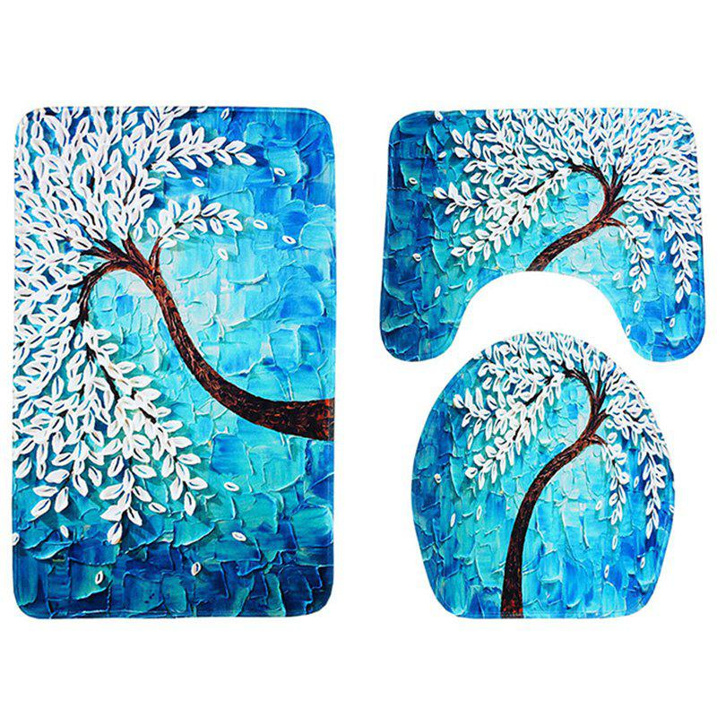 Sale Carved Happiness Tree Anti-skid Absorbent Pad 3pcs