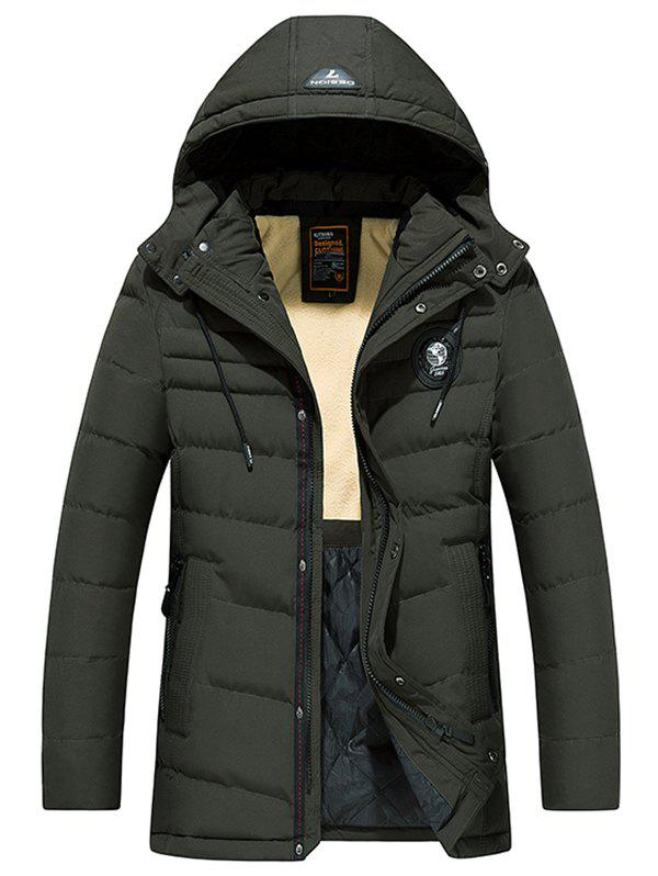 Fashion 8808 - A532 Winter Men's Jacket Down Cotton Padded Hooded Men's Youth