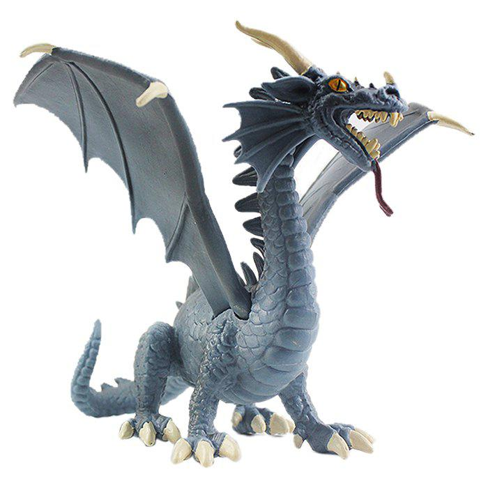 Shop Plastic Blue Dragon Model Toy