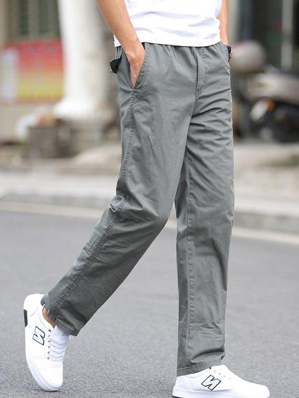 Store 1703 - A532 Autumn Men's Business Youth Large Size Trousers Casual Pants