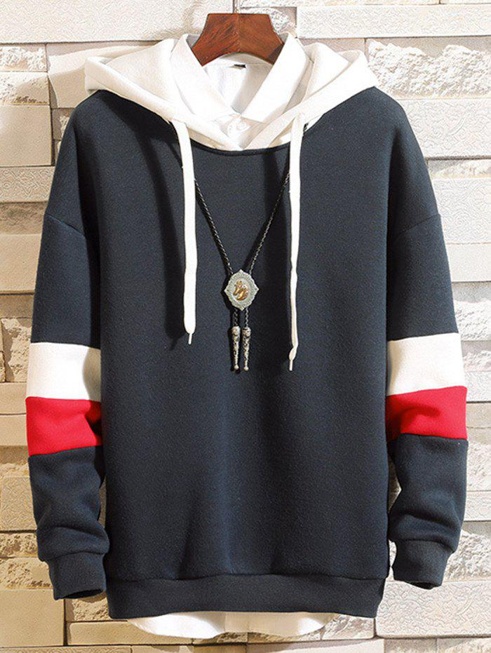 Shop Men's Casual Hooded Sweater Fashion Matching Hoodie