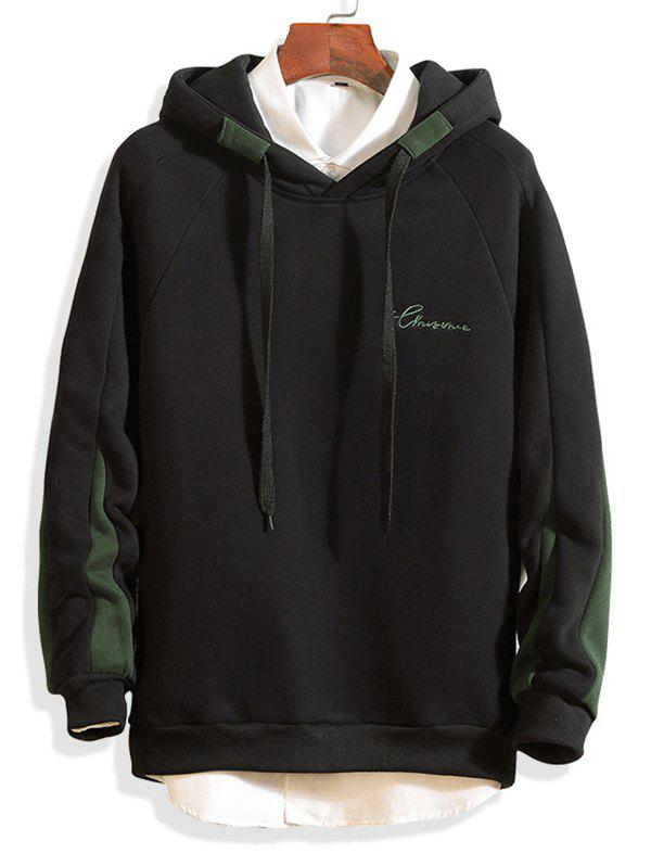 Affordable Loose Youth Simple Color Hoodies
