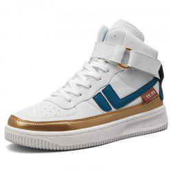 Stylish Men's British High-top Casual Shoes -