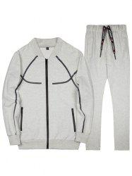 Men's Casual Large Size Baseball Uniform Outdoor Sports Suit -