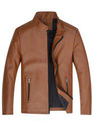 Men Classic Stand Collar Wearable Stylish Jacket -