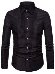 Men Leisure Comfortable Slim Long Sleeve Shirt -