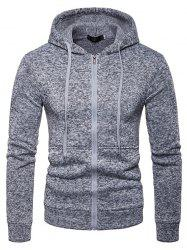 Men Comfortable Long Sleeve Classic Hooded Hoodie -