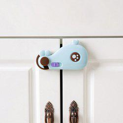 Whale Design Multi-function Baby Safety Buckle for Cabinet Door -