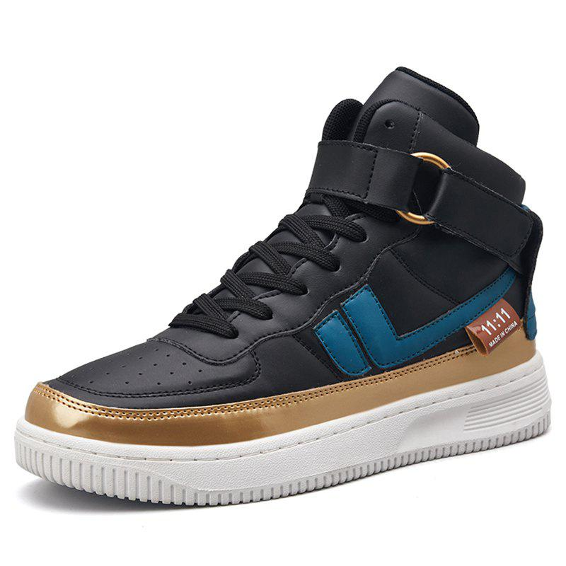 Discount Stylish Men's British High-top Casual Shoes