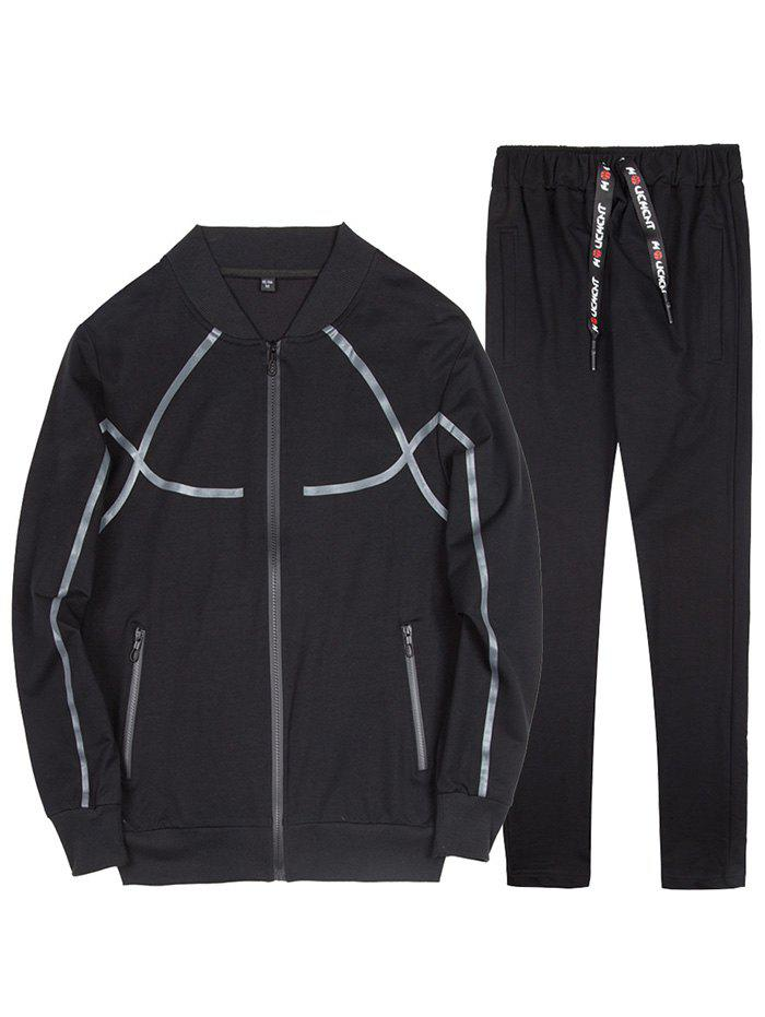 Outfits Men's Casual Large Size Baseball Uniform Outdoor Sports Suit