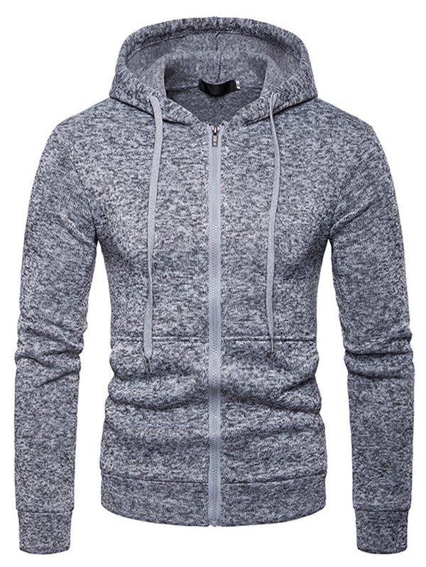 Fashion Men Comfortable Long Sleeve Classic Hooded Hoodie