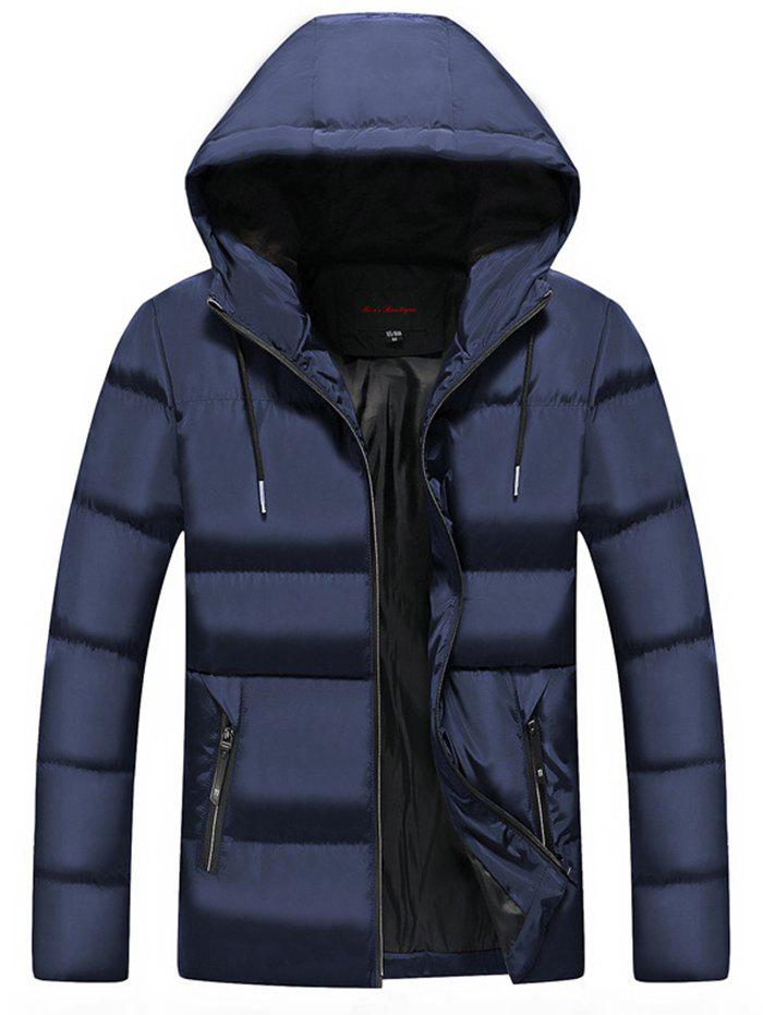 Affordable Men Leisure Comfortable Warm Hooded Zipper Down Coat
