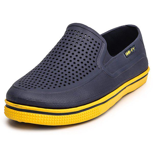 Buy Summer Deodorant Slippers Hole Shoes for Men