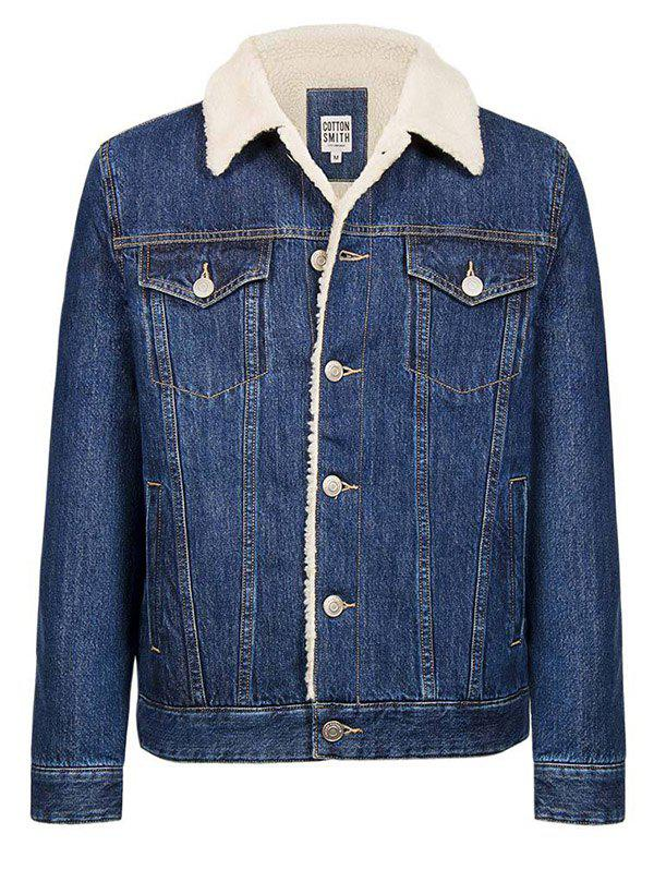 Affordable Cotton Lambskin Denim Jacket from Xiaomi Youpin