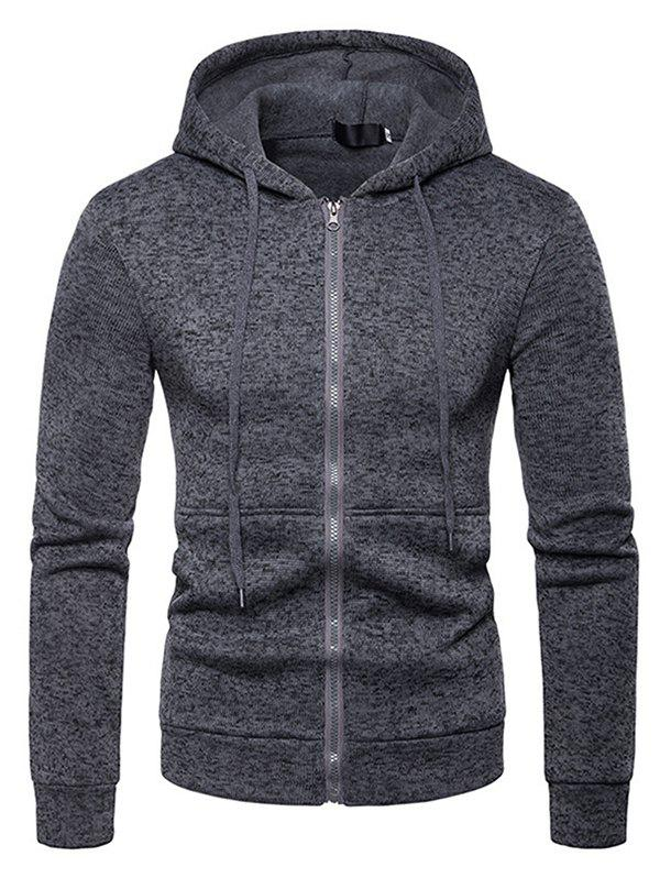 Outfits Men Comfortable Long Sleeve Classic Hooded Hoodie