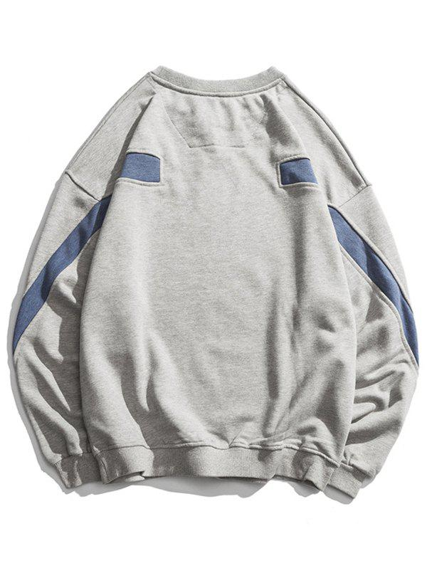 Outfits Retro Sports Wind Hoodie
