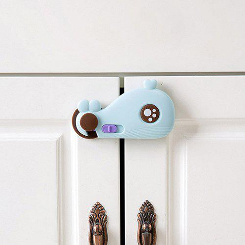 Hot Whale Design Multi-function Baby Safety Buckle for Cabinet Door