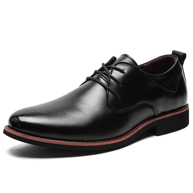 Best Men's Formal Leather Shoes Business Rubber Sole