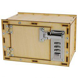 Mechanical Password Box DIY Kids Science Projects Experiment Kits -