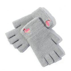 Half Finger Design Women's Gloves -