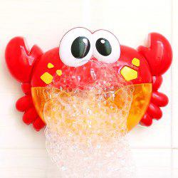 Jouet d'enfant Bubble Machine Crab Design -